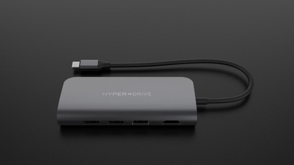 هاب USB-C Hyper Drive Power 9in1