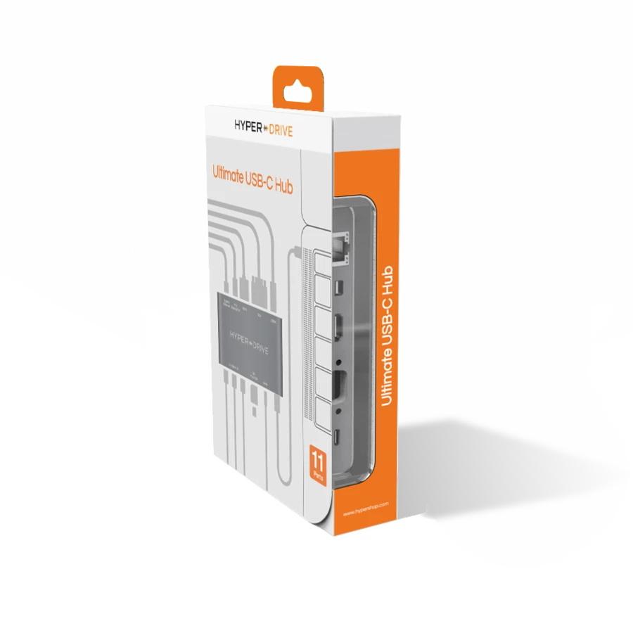 هاب Hyper Drive Ultimate USB-C HUB  11in1