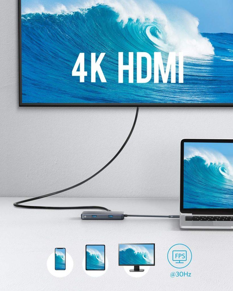 هاب Anker 7in1 USB-C HUB