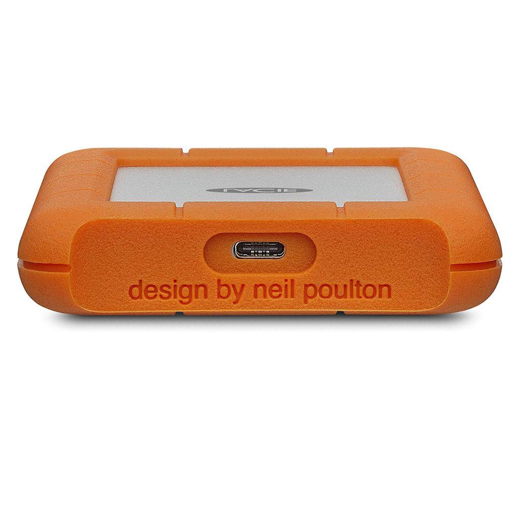 هارددیسک اکسترنال لسی مدل Rugged USB-C ظرفیت 2 ترابایت